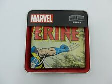 All NEW Marvel Comics Wolverine Bifold Wallet Comic with Metal Tin
