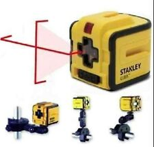 NEW Stanley CUBIX Self Leveling Cross Line Laser Level/Plumb STHT1-77340 +MOUNT