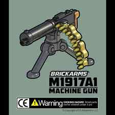 BRICKARMS M1917A1 Machine Gun for Lego Minifigures NEW WW2 Soldier US Military
