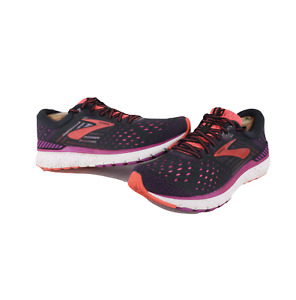Brooks Transcend 6 Running Jogging Gym Shoes Sneakers Black Womens Size 10.5