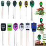2/3/4 in1 Soil Tester Water PH Moisture Light Test Meter Garden Patio Plant Seed