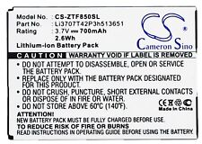Battery For ZTE F851, F252, F256, F850 (p/n Li3707T42P3h513651) 700mAh