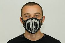 Glow In The Dark Destroid Surgical Kandi Mask Rave Gear Music Festivals Costume