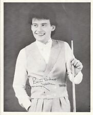 "JIMMY WHITE AUTOGRAPH ON VERY EARLY 10"" x 8"" B&W PROMO PHOTOGRAPH"