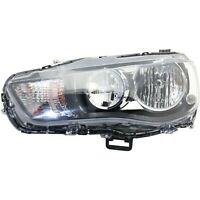 CAPA Headlight Driving Head light Headlamp Driver Left Side LH Hand MI2502157