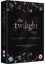 DVD:THE TWILIGHT SAGA - THE COMPLETE COLLECTION - NEW Region 2 UK