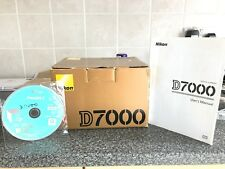 Nikon D7000 BOX And H/Book Only