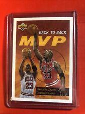 1992-93 Upper Deck Back to Back MVP Michael Jordan #67, Chicago Bulls, HOF