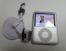 Apple iPod Nano, 3rd Generation Silver (4GB) Fully Working