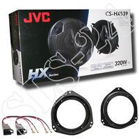 JVC 320W Lautsprecher Opel CORSA B C Vivaro KFZ Lautsprecherringe + Adapter Set