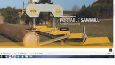 Frontier OS27 Portable Band saw Sawmill