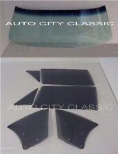 1968-1970 CORONET ROADRUNNER SATELLITE GTX CONVERTIBLE COMPLETE GLASS SET GREY