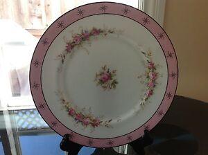 "Coalport  Rose Bone China Dinner Plate England 10 3/4"""
