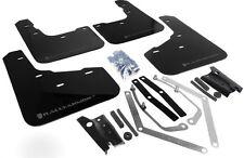 Rally Armor UR Mud Flaps Black w/ Silver for 2014-2018 Fiesta ST MF29-UR-BLK/SIL