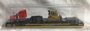 Norscot Peterbilt Model 389 With Trail King Lowboy Trailer and Cat D5M Track