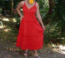 *NEU* Maxi TRAUM Kleid Pailletten HIPPIE Empire ROMANTIK Gypsie Boho S,M,L,XL