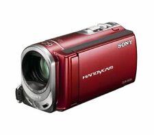 VIDEOCAMERA SONY DCR-SX34 di colore rosso, perfetta nessuna difetto, usata pochi