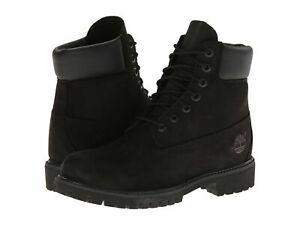 NWOB Timberland 6 Inch Premium Waterproof BLACK Boots STYLE 10073 SZ:18