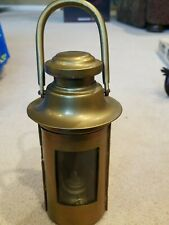 vintage antique brass oil lantern ships boat light Maritime lamp*