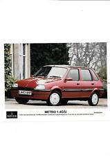 ROVER METRO 1.4GSi PRESS PHOTO 'L' REGISTERED 'SALES BROCHURE' CONNECTED
