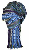 Sciarpa Missoni Scarf Unisex MADE IN ITALY Grande 50x200 100% genuine 6100var.00