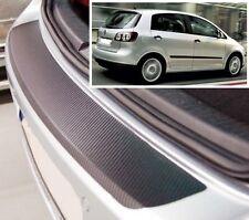 VW GOLF PLUS - estilo Carbono Parachoques trasero PROTECTOR