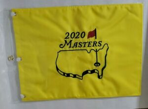 Masters Golf 2020 Pin Flag Embroidered Augusta National In Hand Ready To Ship
