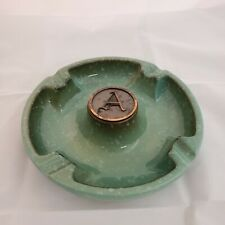 **The Hyde Park Ashtray by Roseville No. 1900 Excellent Monogrammed A**