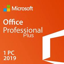 ✅MICROSOFT®OFFICE 2019 PROFESSIONAL PLUS 32/64 BIT 1 PC LICENSE KEY✅