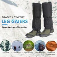 Outdoor Wanderschuhe Gamaschen Wasserdicht Schnee Leg Legging Abdeckung