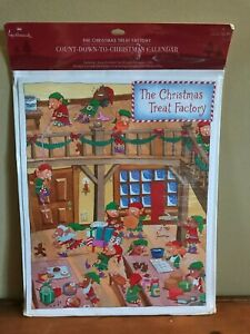 Brand New/Sealed Hallmark Count Down to Christmas Calendar