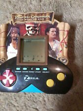 PIRATES OF THE CARIBBEAN AT WORLD'S END ELECTRONIC HANDHELD GAME ZIZZLE 2007