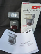 Metz Mecablitz 44 AF-4C Flashgun for Canon
