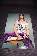 CHARLOTTE GAINSBOURG signed Autogramm auf SEXY 20x30 cm Bild InPerson LOOK