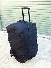 """NEW 26"""" Heavy-Duty Water-Proof Rolling Travel Duffel, Multiple Compartments"""