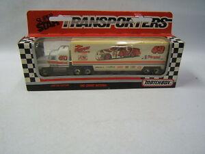 Matchbox Ed Ferree Chevrolet 49 Nascar Transporter
