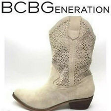 BCBGeneration suede leather laser cut western/cowboy style boots size37.5,UK 4.5