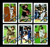 2021 Topps Series 1 - SAN DIEGO PADRES Team Set 12 cards