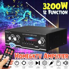 2000W Verstärker Stereo Amplifier HIFI Digital Audio bluetooth FM Vollverstärker