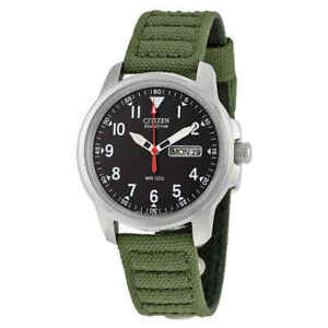 NEU Citizen Military Herren Eco-Drive Watch-bm8180-03e