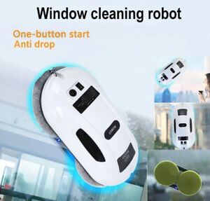 Smart Robot Window Cleaner Glass Cleaning Wiping Vacuum Automatic Wiper AI Wash
