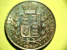 More details for full gold sovereign,1843,queen victoria, royal mail spec delivery.