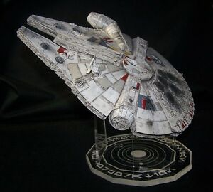 acrylic display stand for 1/144 Millennium Falcon Bandai or Fine Molds Star Wars
