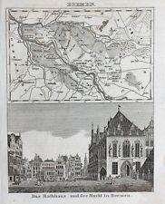 Hansestadt Bremen Adam Storck Rathaus Marktplatz Architektur Schütting Börse