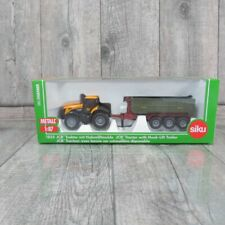 SIKU 1855 - 1:87 - JCB Traktor mit Hakenliftmulde - OVP - #T29452