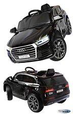 Kinderfahrzeug 12V Kinder Elektro Auto Audi Q5 Kinderauto Gummiräder Ledersitz