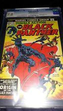 JUNGLE ACTION #8 CGC 7.0 (1974) - ORIGIN OF BLACK PANTHER & MAP of WAKANDA