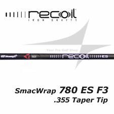 New Shaft Set - .355 Taper Tip UST Recoil 780 ES F3 R Flex SMACWRAP Iron - BLACK