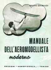 MODELLISMO AEREO Manuale Aeromodellista 1965 1a Ed Ghibaudi - DVD