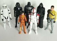 """Hasbro Star Wars LFL 12"""" Action Figure Lot 7 Darth Vader Kylo Ren Storm Trooper"""